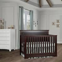 Dream On Me Morgan 5 in 1 Convertible Crib - Espresso