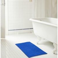 RT Designers Collection Kara Short Pile Chenille Bath Mat