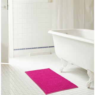 RT Designers Collection Kara Short Pile Chenille Bath Mat