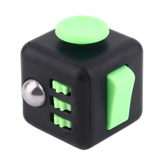 Black&Green Pressure Stress Relief Dice 6 Side Great Dice Edition Great Christmas Gift