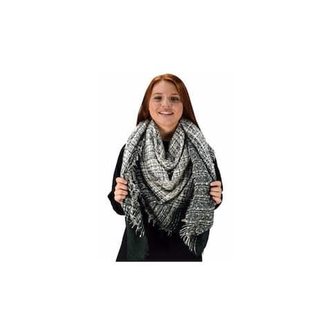 Peach Couture Marled Blanket Scarves - Medium