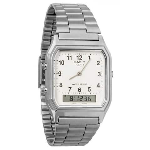 Casio Men's Classic Stainless Steel Watch AQ230A-7B