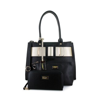 LANY 'Lindsey' Buckle Detail 3-Piece Tote Bag Set