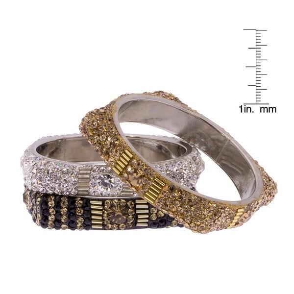 Handmade Saachi Square Magic Bracelet Set Of 3 India
