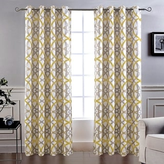 Link to Carson Carrington Jarvenpaa Insulated Blackout Grommet Window Curtain Panel Pair Similar Items in Curtains & Drapes