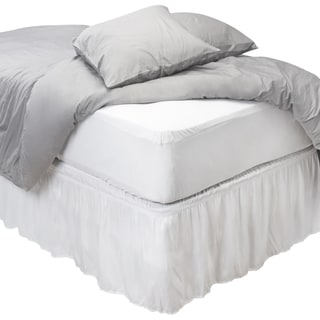 Kennedy Home Collections Anti-Bacterial Waterproof Fitted Mattress Cover