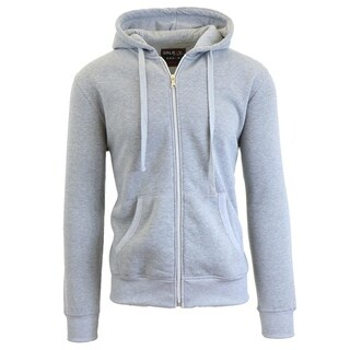 Galaxy By Harvic Men's Heavyweight Fleece Zip-Up Hoodies