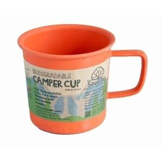 EcoSouLife Bamboo - Camper Cup 14 Oz., Orange