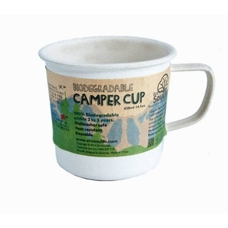 EcoSouLife Bamboo - Camper Cup 14 Oz., Sand