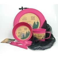 EcoSouLife Bamboo - Camper Set LG, Pink