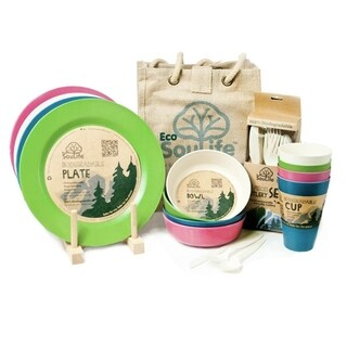 EcoSouLife Bamboo - Picnic Set for 4, Tokyo
