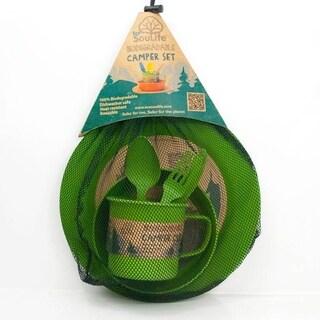 EcoSouLife Bamboo - Camper Set LG, Green