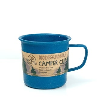 EcoSouLife Bamboo - Camper Cup 14 Oz., Navy
