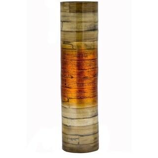 """Noor 24"""" Spun Bamboo Stovepipe Vase"""
