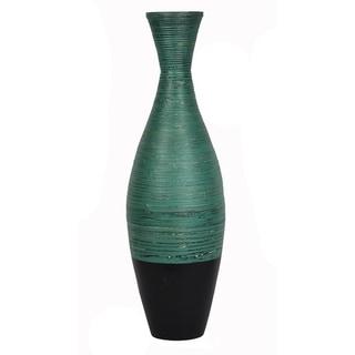"""Nola 36"""" Spun Bamboo Floor Vase"""