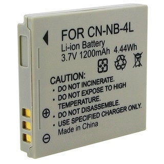 Link to Insten Rechargeable Battery NB-4L for Canon Digital IXUS 230 HS/ 60/ 65/ 70/ 75/ i7 Similar Items in Cell Phone Accessories