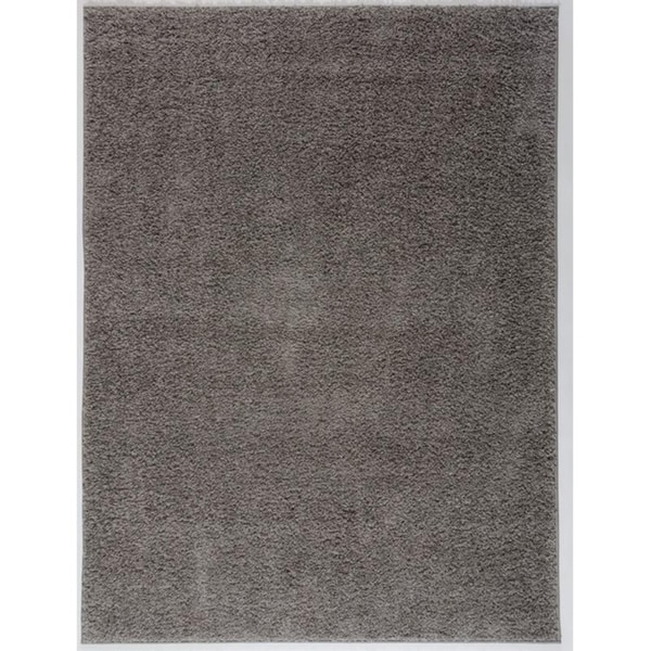 Antep Rugs Star Gy Collection Cozy Solid Area Rug Grey