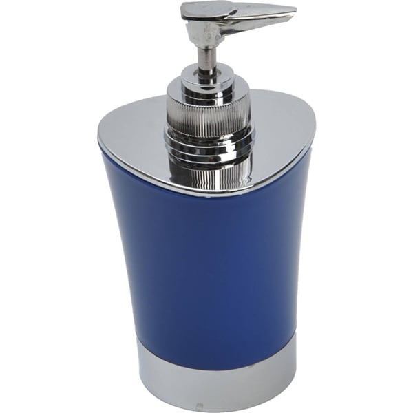 Evideco Soap and Lotion Dispenser Shiny Color with Chrome Parts