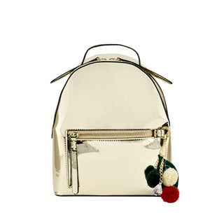 "LANY 'Matilda' Metallic Fashion Backpack - 8.25""W x 9.5""H x 4.5""D"