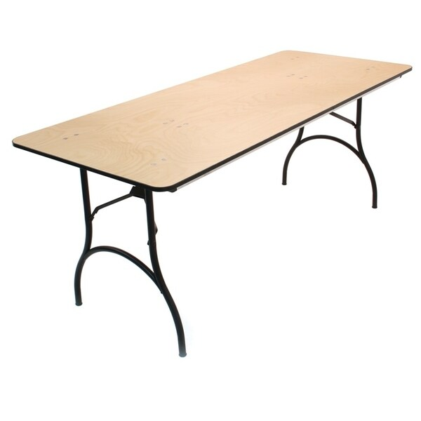 Shop Atlas Lane Titan 30 X 72 Plywood Folding Table Free
