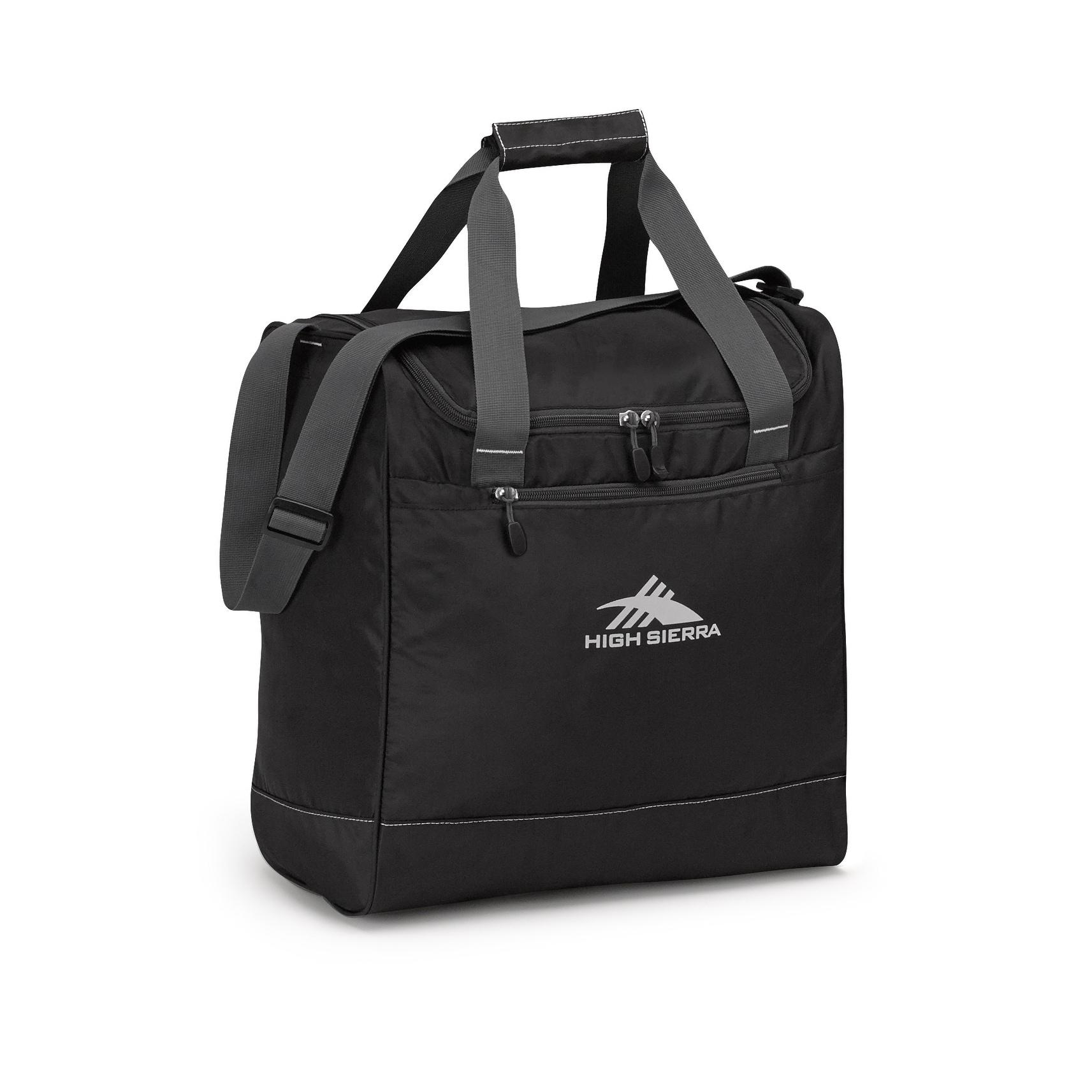 High Sierra Boot Bag (black/mercury) (Polyester)