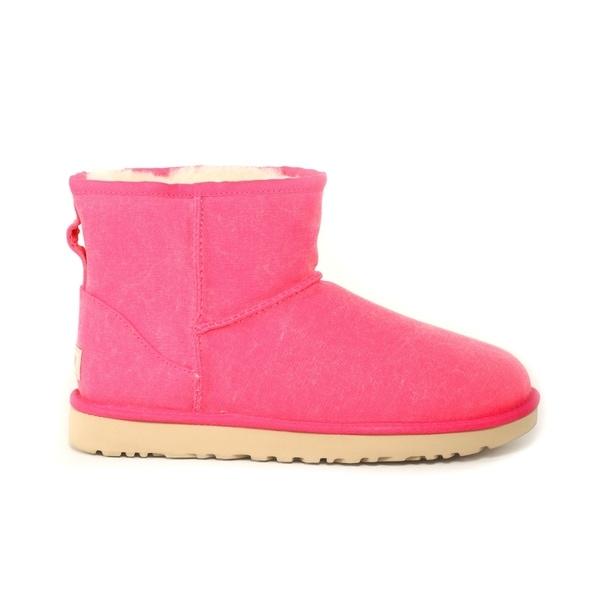 ugg boots Classic Mini II rosa