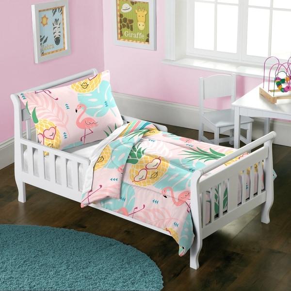 Dream Factory Pineapple 2-piece Toddler Comforter Set