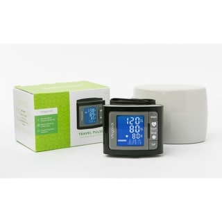 Wrist Blood Pressure Monitor with Case (BLACK)