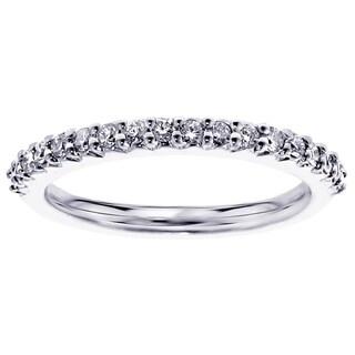 14k Gold 1/3 ct TDW Diamond Wedding Band (G-H, SI1-SI2)