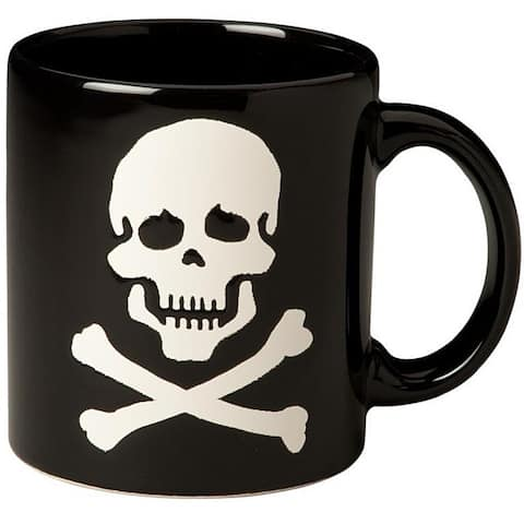 Waechtersbach Fun Factory Set of 6 Skull and Crossbones Mugs