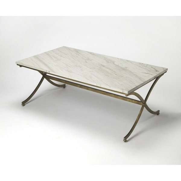 Butler Pamina Travertine Cocktail Table