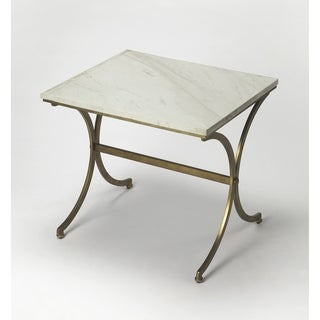 Butler Pamina Travertine Accent Table