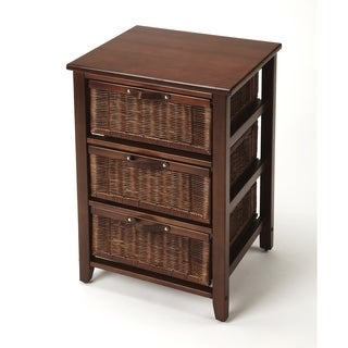 Butler Falmouth Rattan Side Table Chest