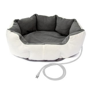 ALEKO Heated Indoor Thermo Pet Bed