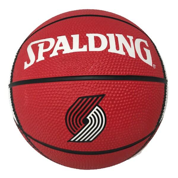 best service 49a98 1b65b Portland Trail Blazers NBA 7 Inch Mini Basketball
