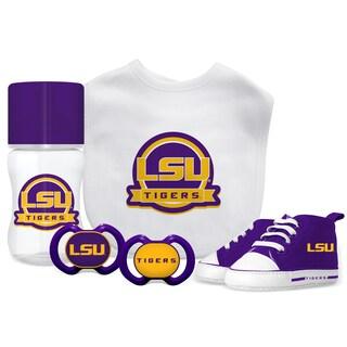 LSU Tigers NCAA 5 Pc Infant Gift Set
