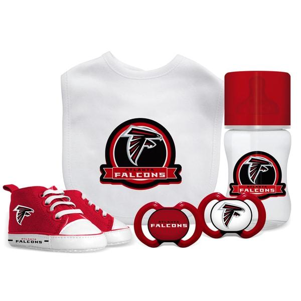 Atlanta Falcons NFL 5 Pc Infant Gift Set