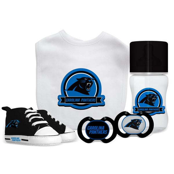 a9a9e7482e05e0 Shop Carolina Panthers NFL 5 Pc Infant Gift Set - Free Shipping On ...