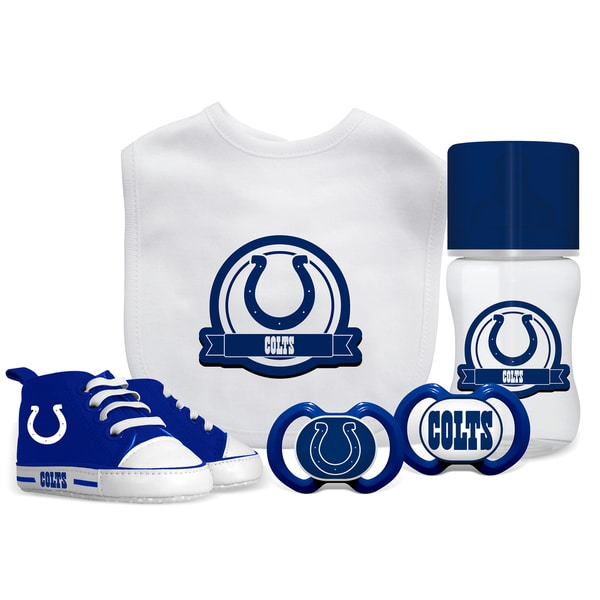 Shop Indianapolis Colts NFL 5 Pc Infant Gift Set Free Shipping On  supplier