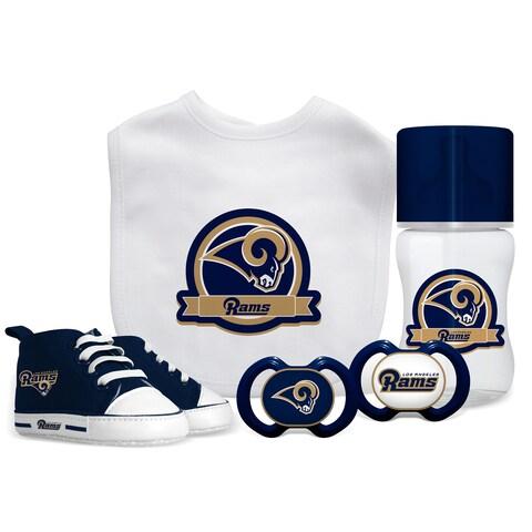Los Angeles Rams NFL 5 Pc Infant Gift Set