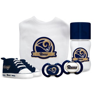 Los Angeles Rams NFL 5 Pc Infant Gift Set