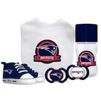 New England Patriots NFL 5 Pc Infant Gift Set