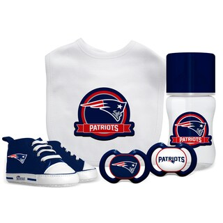 New England Patriots NFL 5 Pc Infant Gift Set