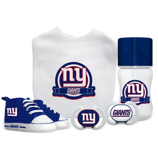 New York Giants NFL 5 Pc Infant Gift Set