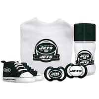 New York Jets NFL 5 Pc Infant Gift Set