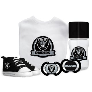 Oakland Raiders NFL 5 Pc Infant Gift Set