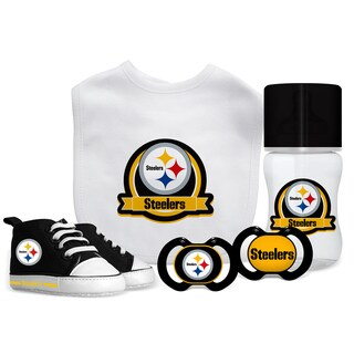 Pittsburgh Steelers NFL 5 Pc Infant Gift Set