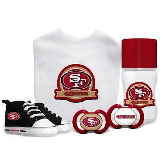 San Francisco 49ers NFL 5 Pc Infant Gift Set