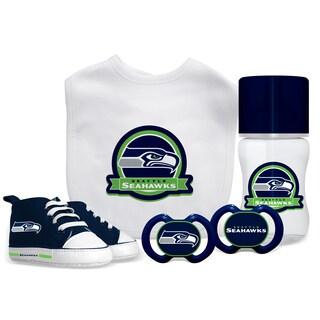 Seattle Seahawks NFL 5 Pc Infant Gift Set