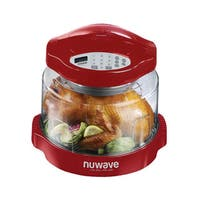 NuWave 20636 Oven Pro Plus with Extender Ring Kit, Red
